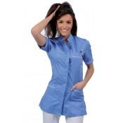 Професионални облекла от Милано Италия чист памук, габардин със сребърни йони