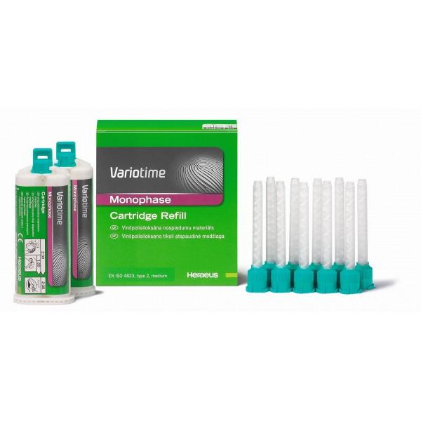 Variotime 2 картуши х 50 мл Monophase тип 2 по ISO
