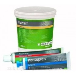 Optosil Comfort/ Xantopren / Activator Universal - комплект+ 1твърдосплавен борер за метал