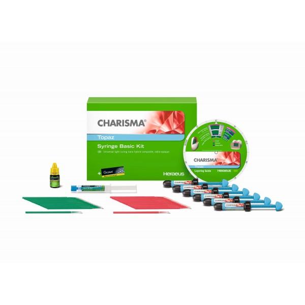 Charisma Topaz - най-новият нанохибриден фотокомпозит на Kulzer Bassic set + Topaz 1 шприцих4г по избор +Charisma Topaz 1x4g CO
