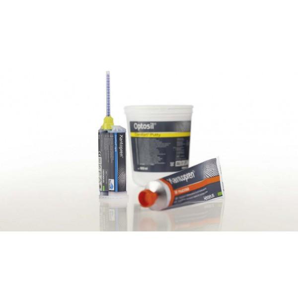 Xantopren mucosa - Специален С-силикон за функционални отпечатъци+Activator 60ml