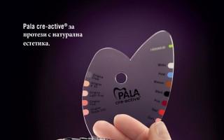 Pala-cre-ative за протези с натурална естетика
