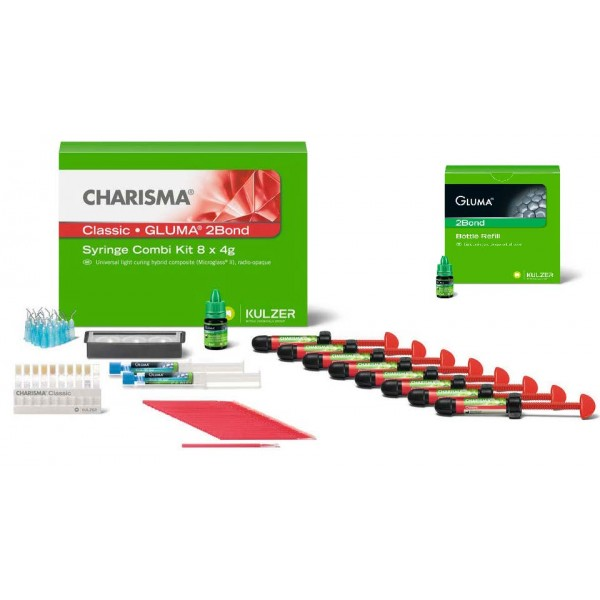 Charisma Classic Combi Gluma 2bond set + Gluma 2bond 4 ml подарък