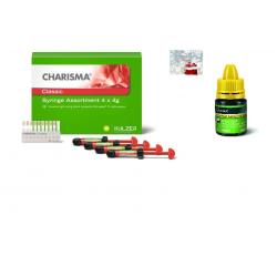 Charisma Classic - универсален Microglass композит - 4 шприци х 4gr + Universal bond 4ml
