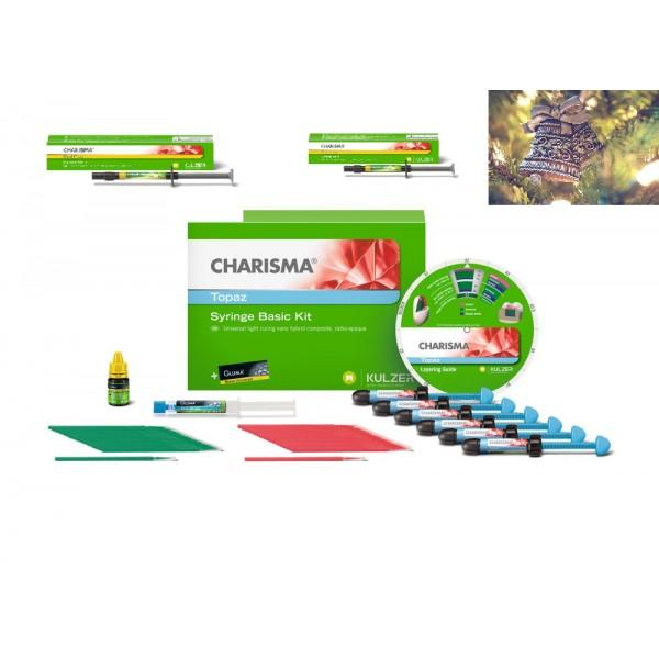 Charisma Topaz - най-новият нанохибриден фотокомпозит на Kulzer Bassic set +Charisma Opal Flow 2 шприци