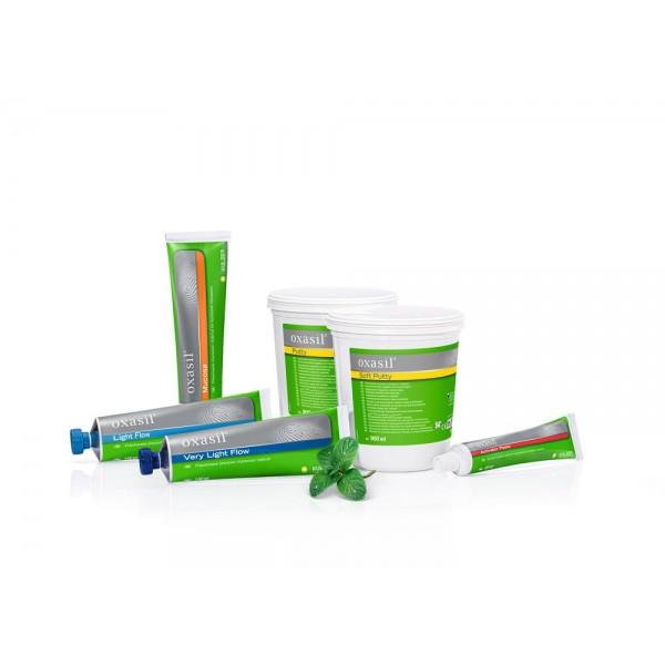 Oxasil Flow Putty 900 ml+ Oxasil Flow Light 140 ml +Activator 60 ml + Oxasil mucosa 140ml